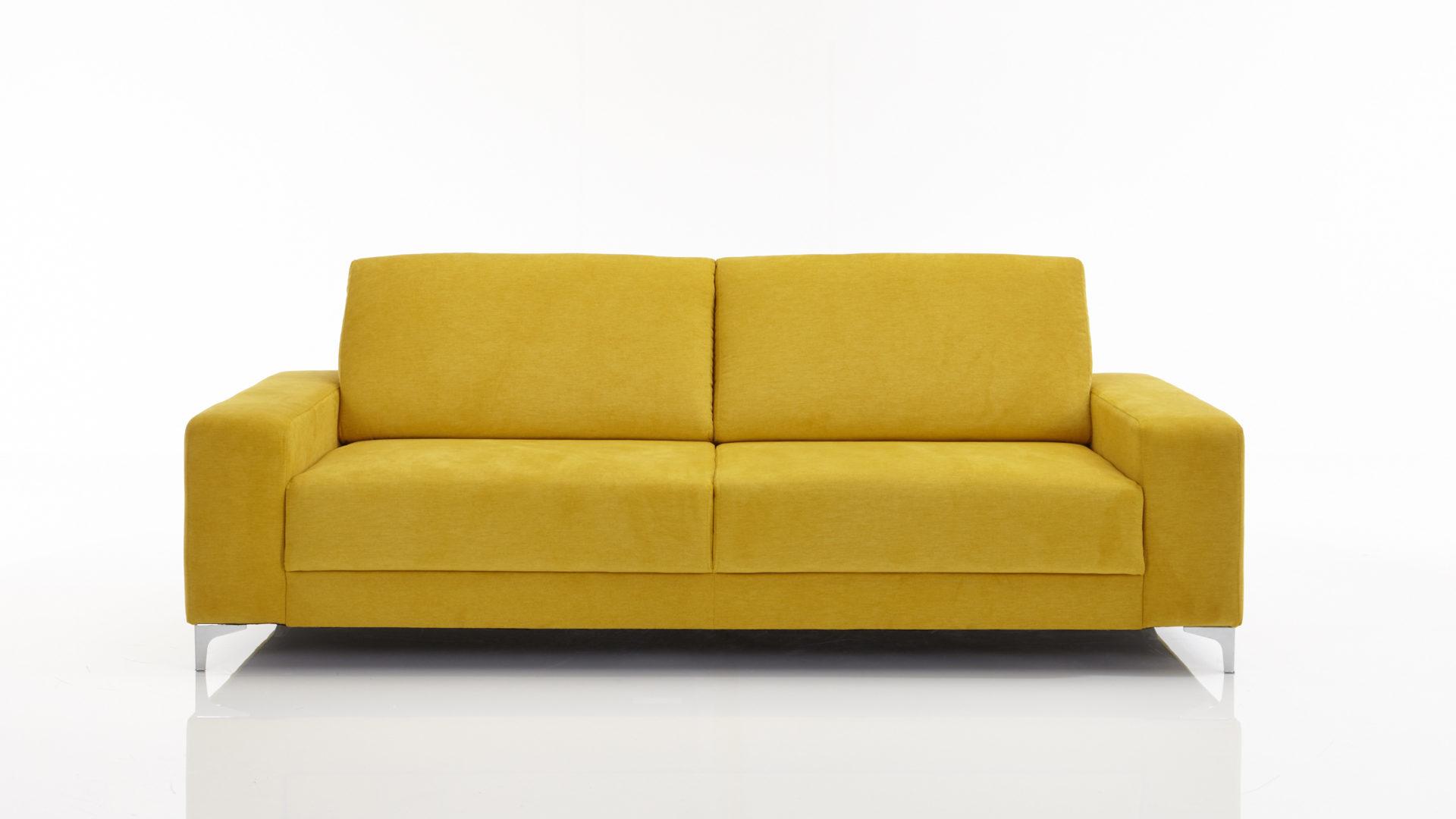 KAWOO 2,5-Sitzer Color 2 Sofa und Polstermöbel, mustardfarbener ...