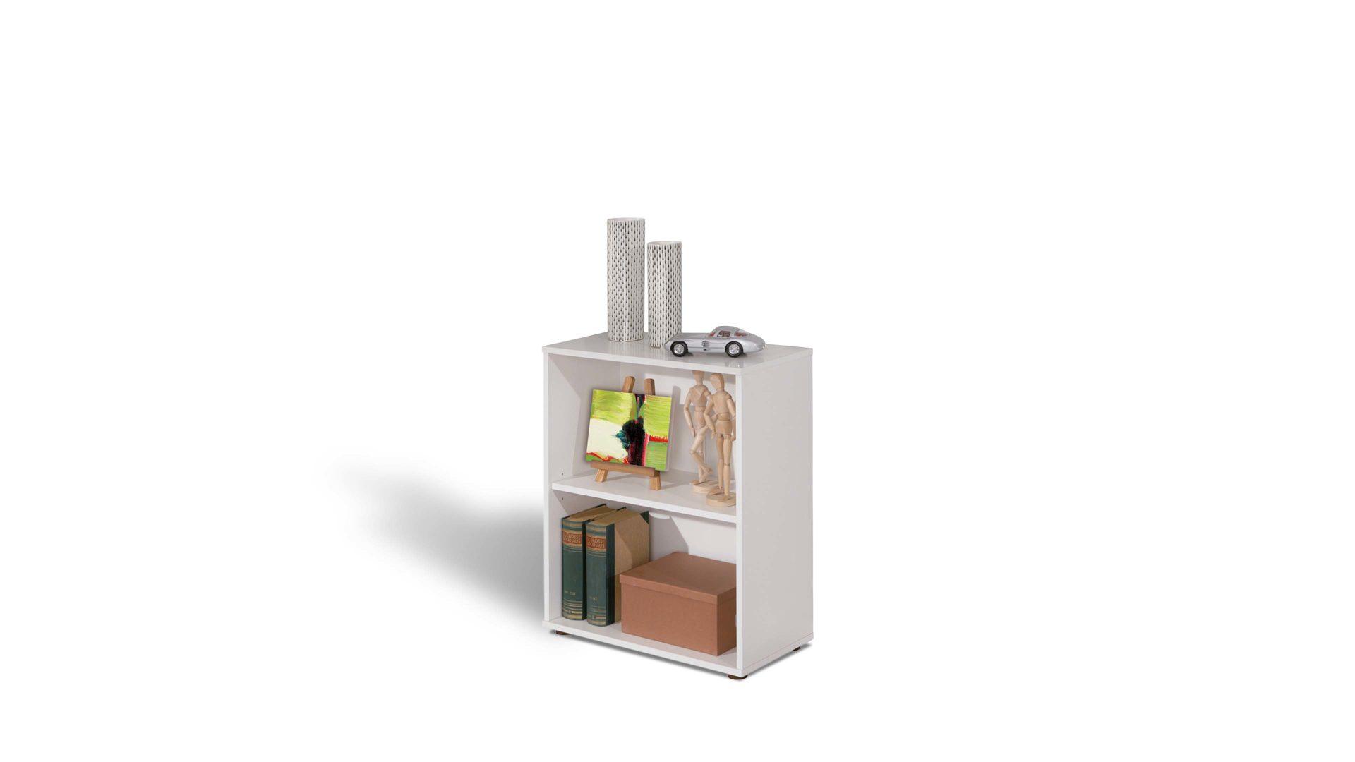 Regal Arco, als Bücherregal oder Badmöbel einsetzbar, weiße, Lahr ...