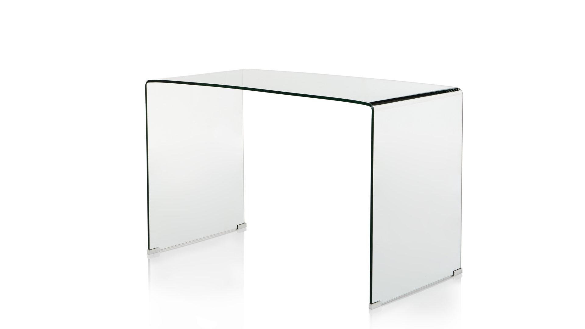 Schreibtisch Aus Glas Als Hochwertiges Buromobel Klarglas Ca 120