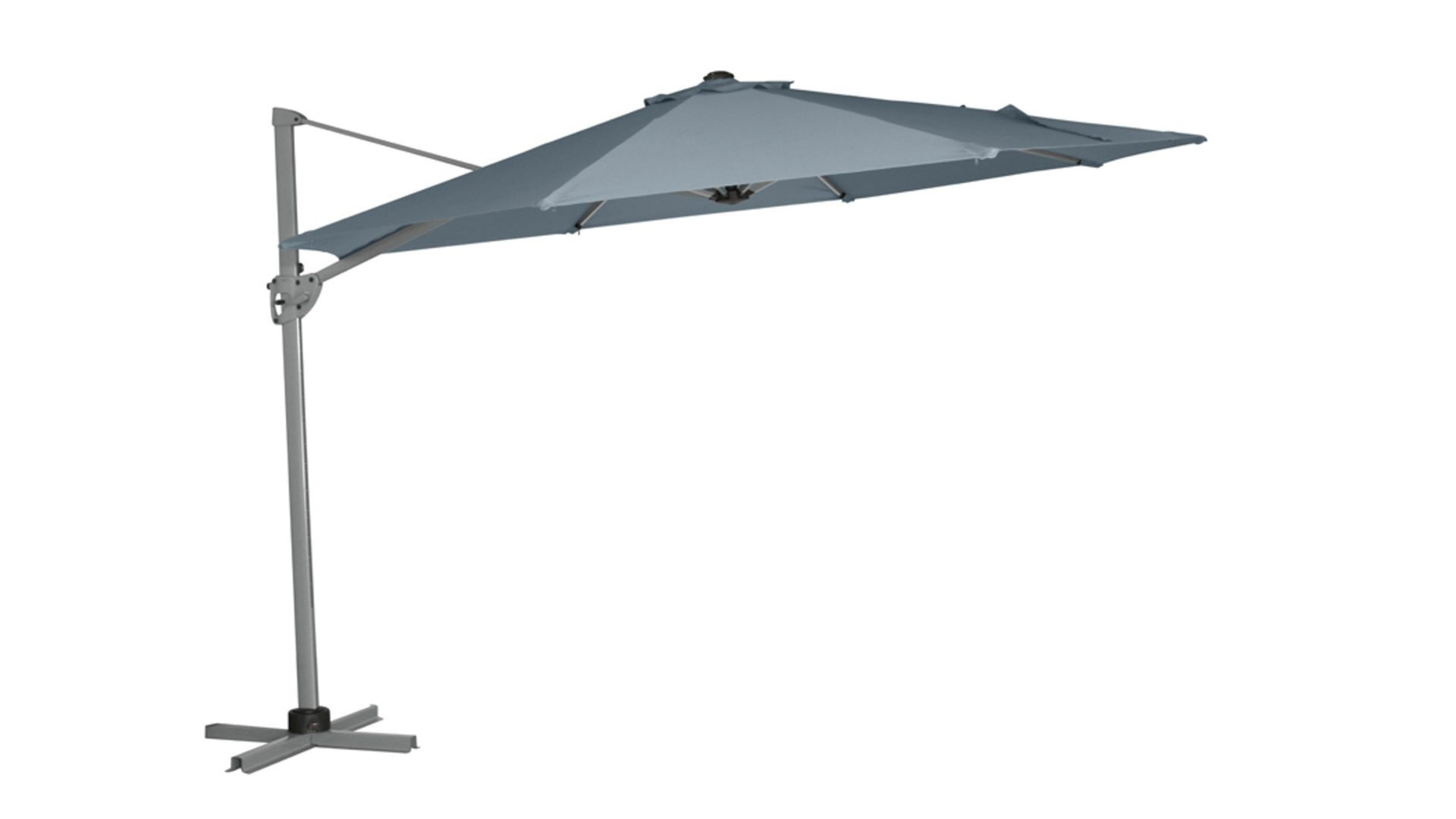 Siena Garden Sonnenschirm Montego Grauer Bezug Durchmesser Ca 350
