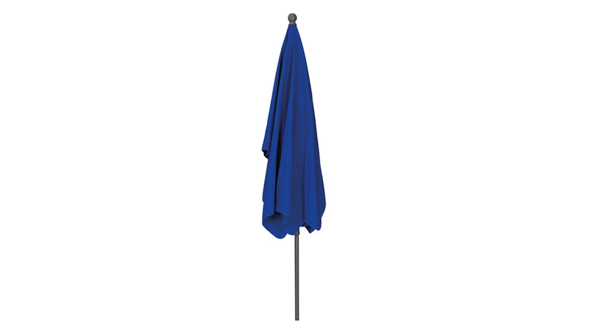 Siena Garden Sonnenschirm Tropico Blauer Bezug Ca 210 X 140 Cm