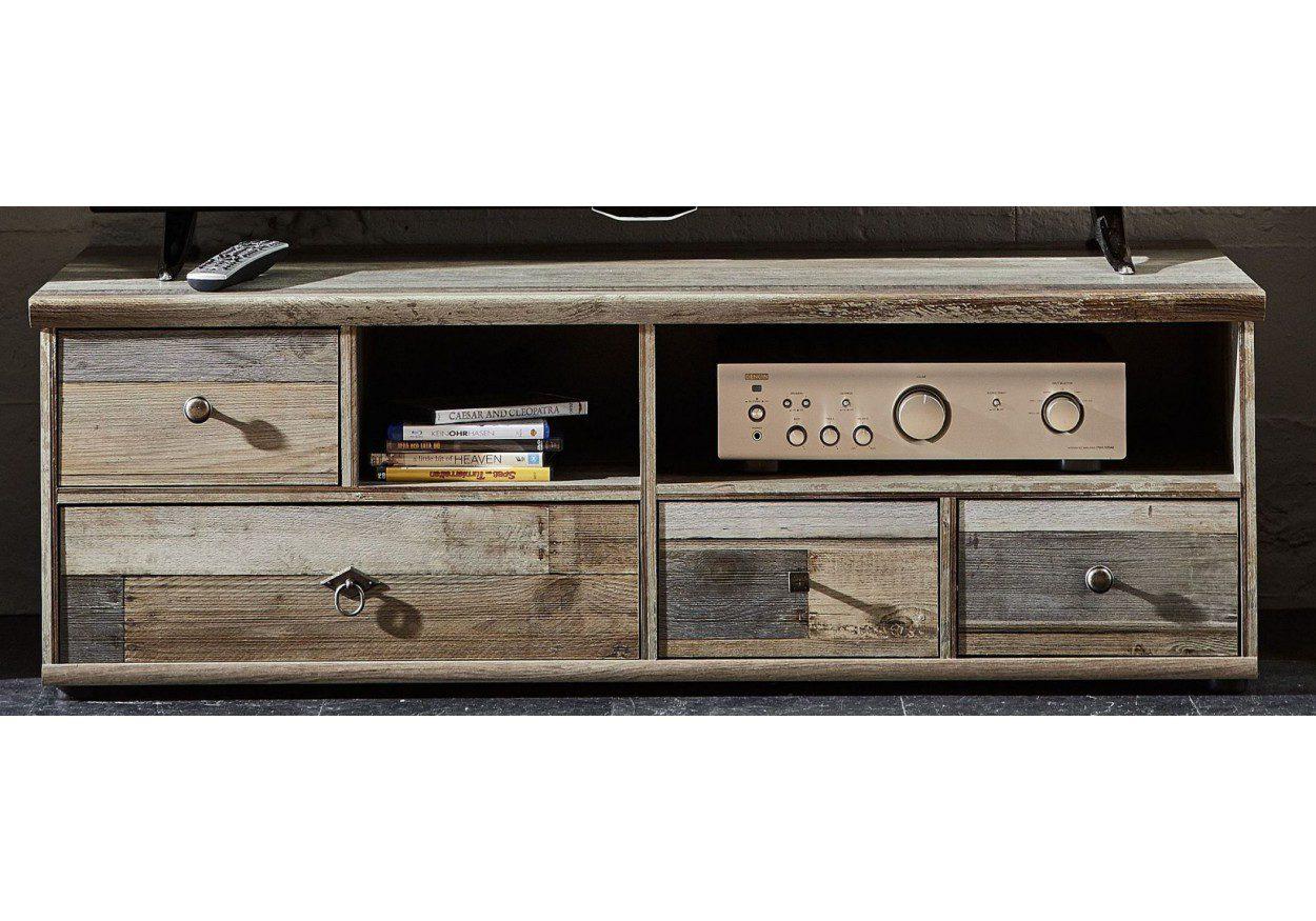 Wohnwand Braun Grau ~ Tv unterteil driftwood grau braun d dd lahr freiburg offenburg