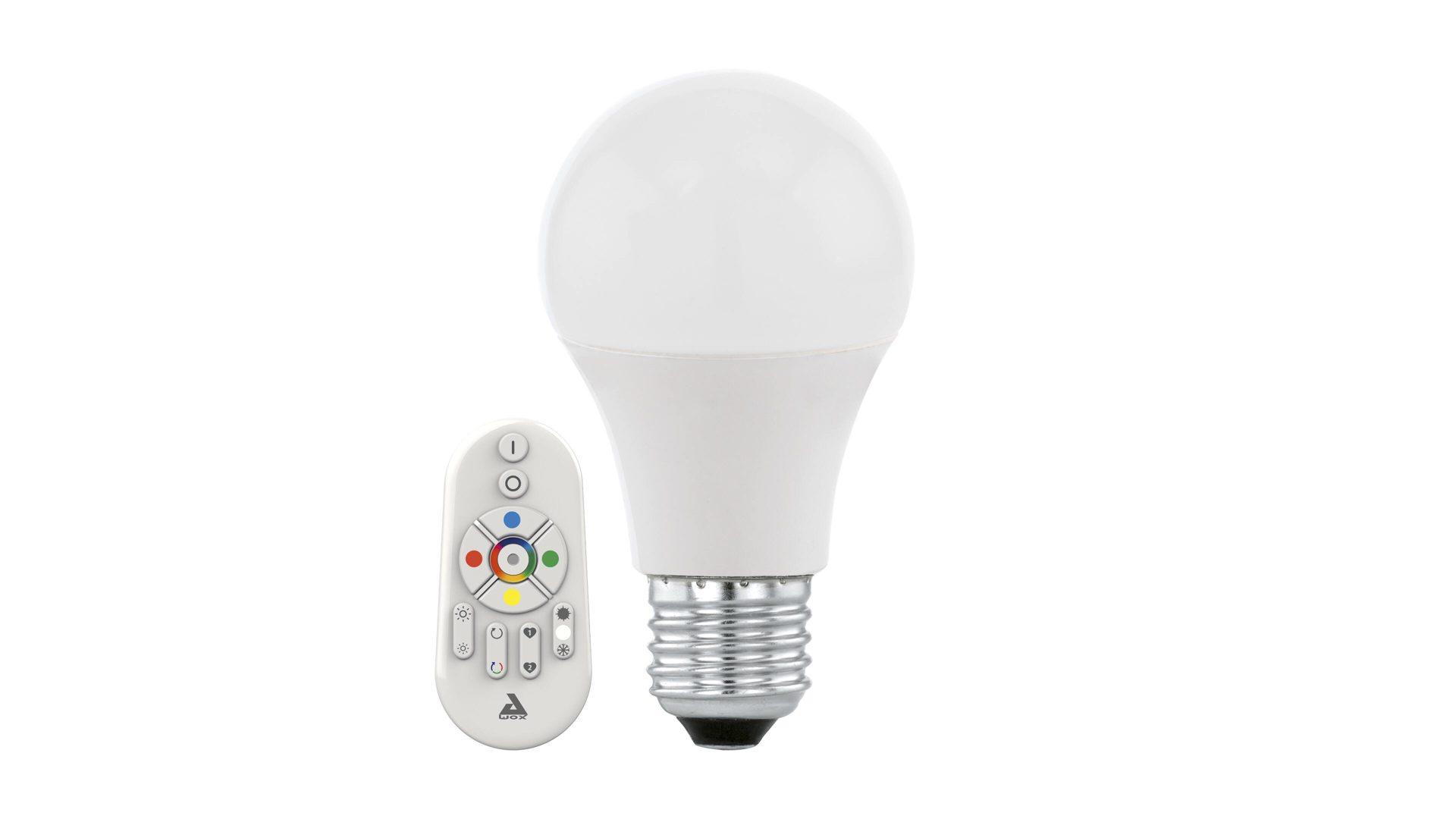 EGLO LED Leuchtmittel, weißes Glas, dimmbar – Durchmesser ca. 6 cm