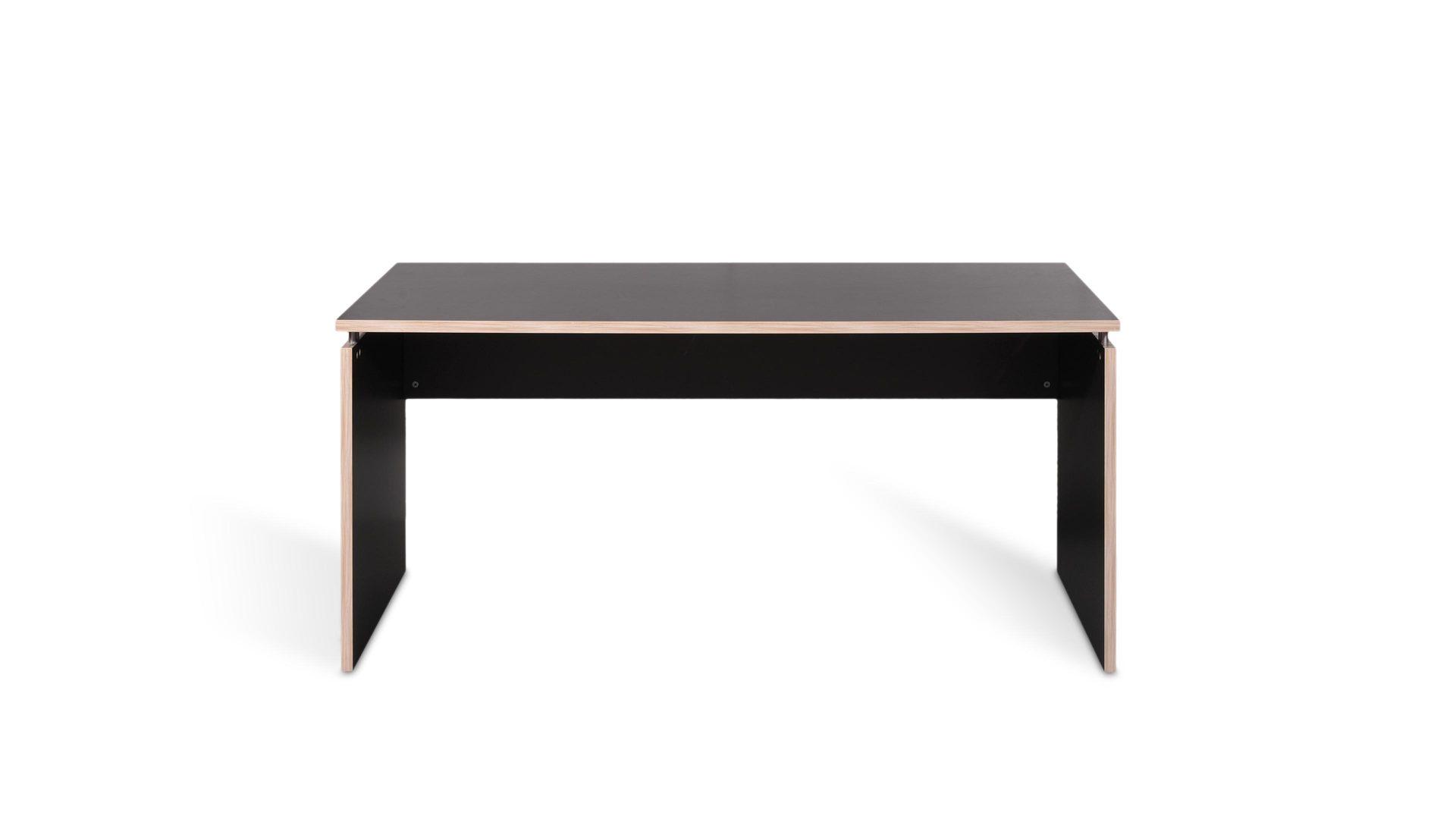 Schreibtisch Dante als praktisches Büromöbel , anthrazitfarbene ...