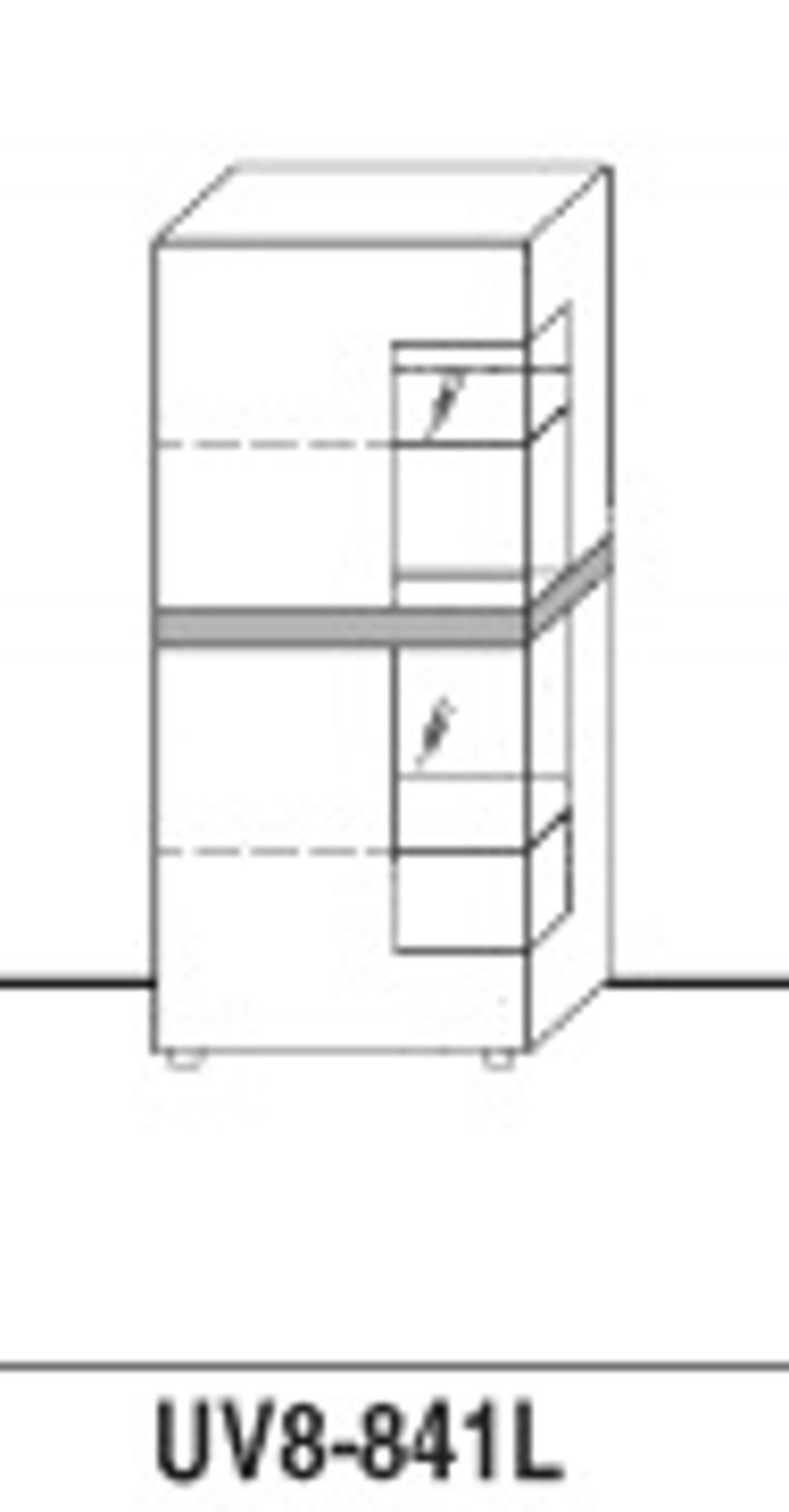 GWINNER Highboard-Elemente 8Raster, Casale UV8-841L, Lahr, Freiburg ...